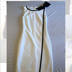 Karl Lagerfeld Paris Shift Dress with Bow Shoulder